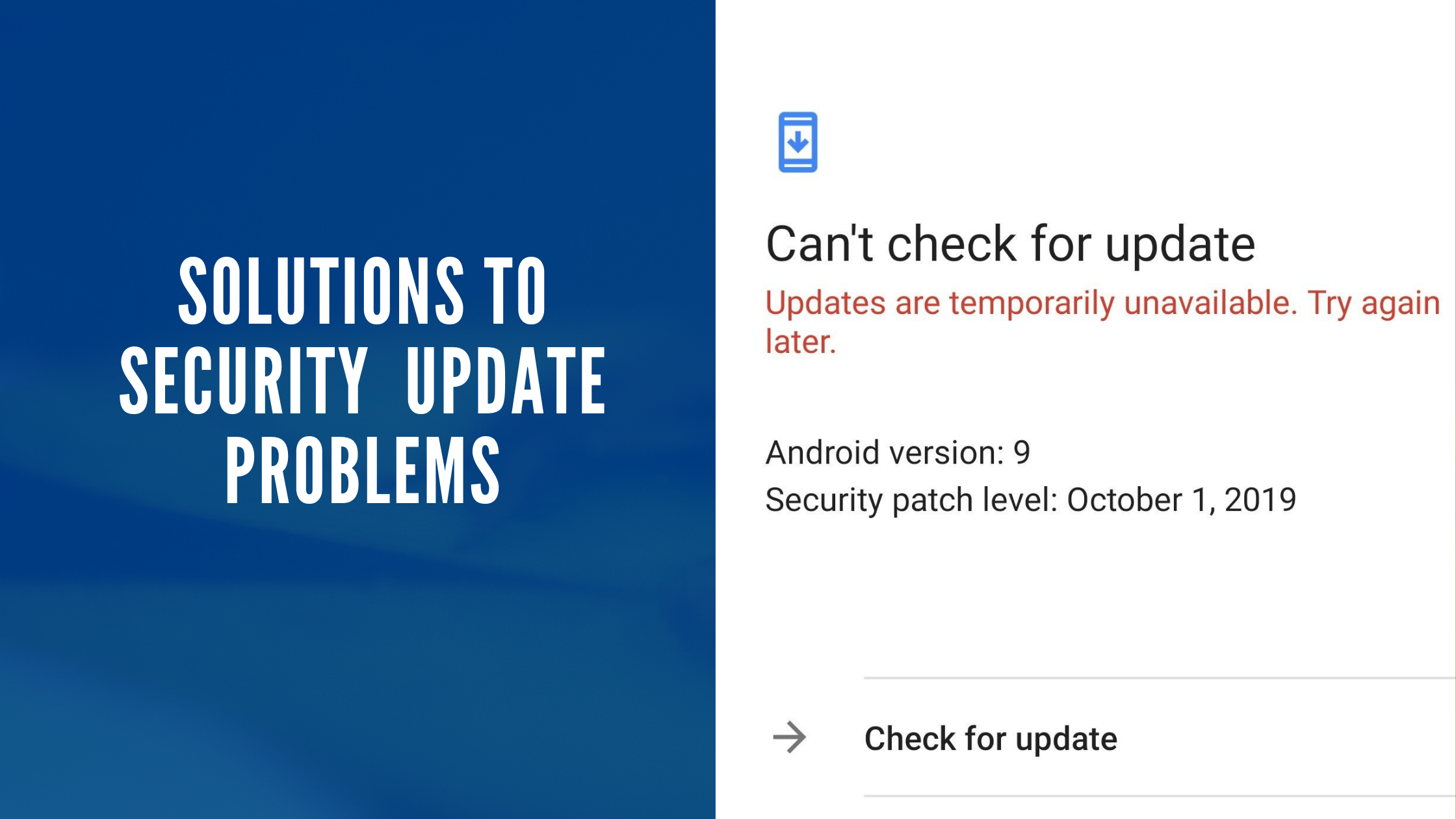 Solutions to SECURITY Update Problems.png