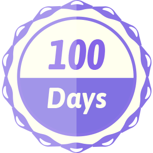 100 Days Sign-in