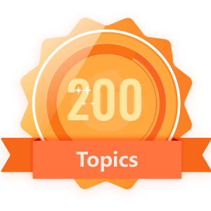 Publish 200 Topics