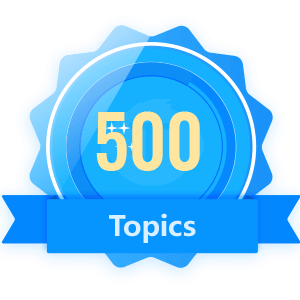 Publish 500 Topics