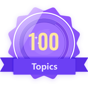Publish 100 Topics