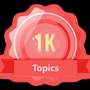 Publish 1K Topics