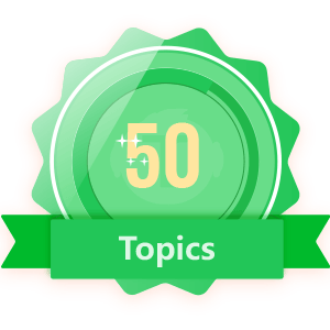 Publish 50 Topics